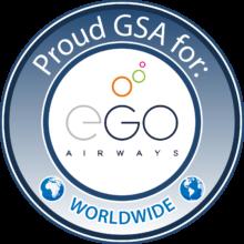 Ego Airways stamp